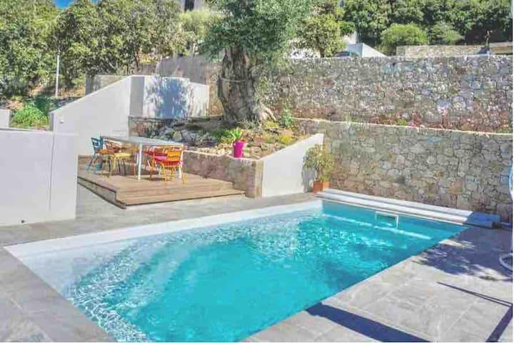 Casaceccu maison rooftop, 3 chambres, vue mer #