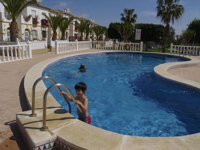"Agréable T2 lumineux vue mer ""Costa Blanca"" - San Miguel de Salinas - Apartament"