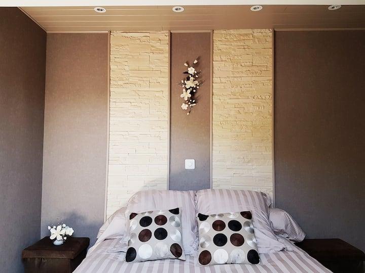 chambre cosy aux portes du Léman