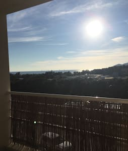Appartement tranquille, avec vue sur mer - Ajaccio
