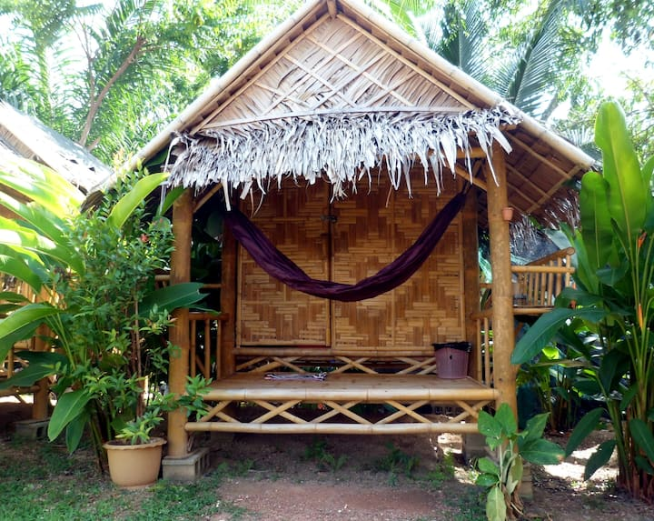 Ok Chawkoh Bungalow 3( Bamboo Cottage Futon bed)