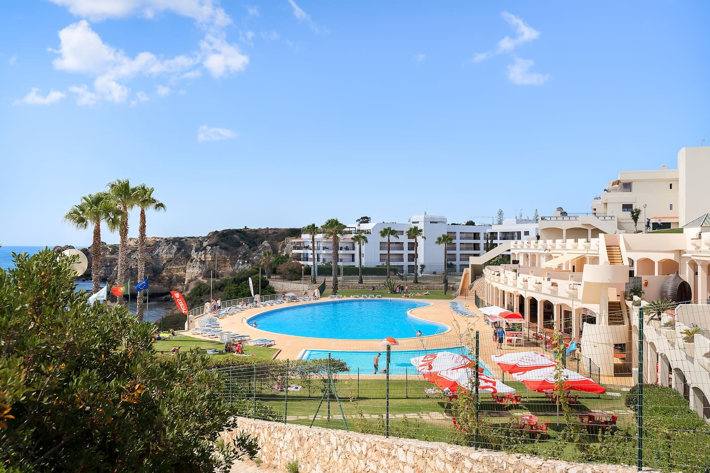 Outdoor pool with Sea View & Direct Access to Dona Ana Beach