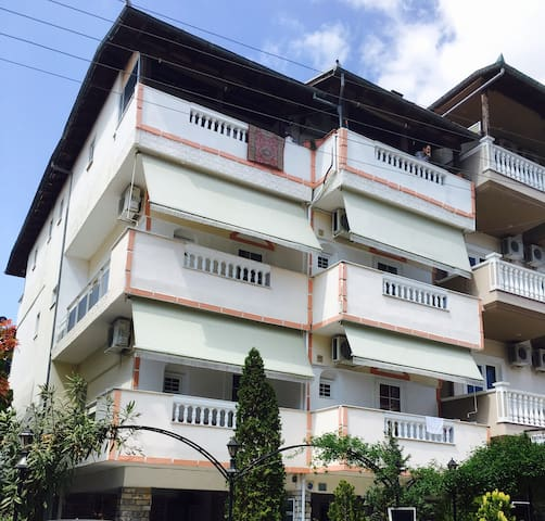 Tolle appartements 150 m vom Strand - Olympiaki Akti - Apartmen