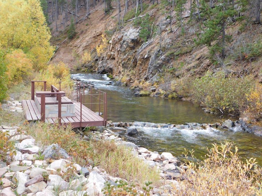 Creek Swimming/fishing hole
