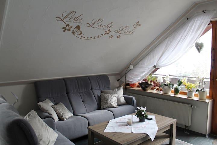Ferienwohnung Mutschler, (Freudenstadt-Kniebis), Ferienwohnung Mutschler, 100 qm, Balkon, 2 Schlafzimmer, max. 6 Personen