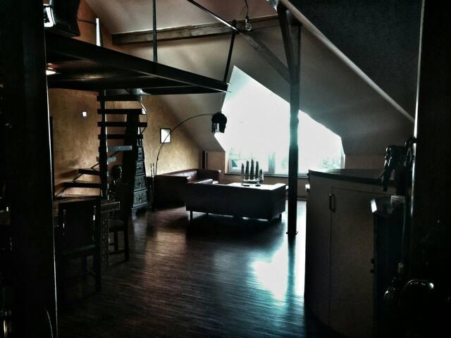 Designový loft v centru vinařského města Hustopeče