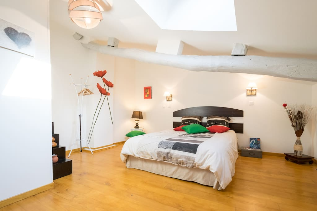 très grande chambre d'hôte 40 m²