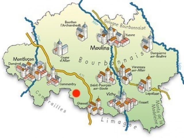 Guide de Sylvie : Tourisme et Activités en Allier