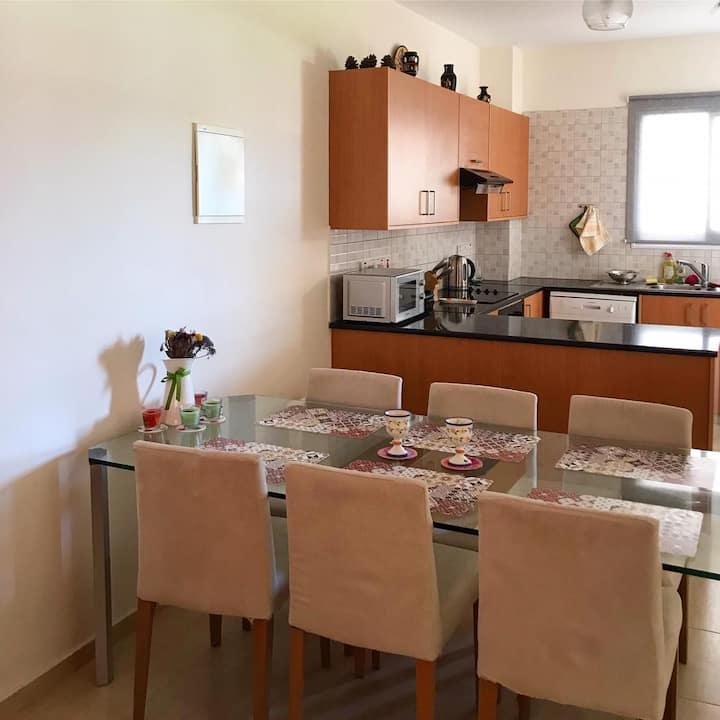 3 bedroom apartment in Mandria, Paphos