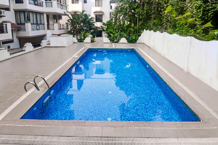 2 BHK apartment, 1.7 km away from Vagator beach - Nord-Goa - Wohnung