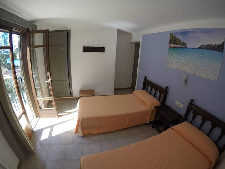 Habitación 1 en la playa