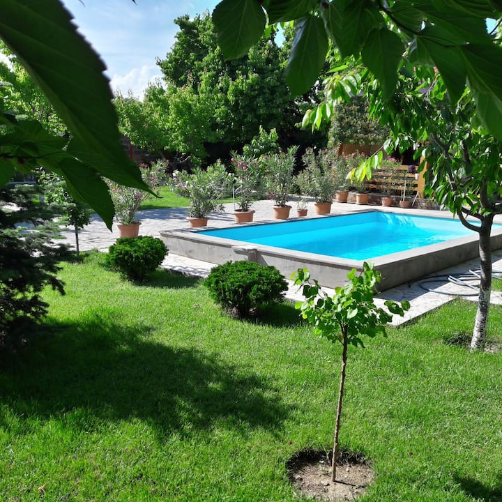 Green paradise near Yerevan,free transfer,SIM cart
