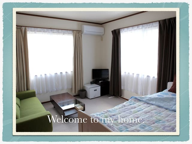 Junichi's home 親子ベットでゆっくりお過ごしください。けん玉体験&指導 - Saeki-ku, Hiroshima-shi - Huis