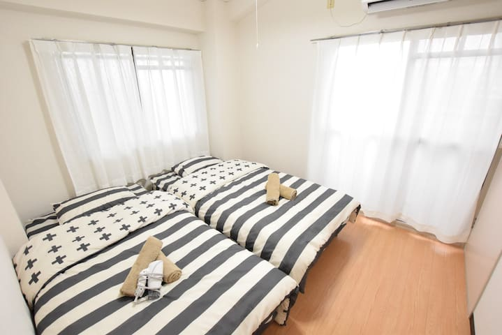 #53 7PPL/Comfy & Cozy Room in Dainichi, Osaka! 506