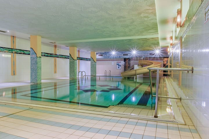 Comfortable waterfront apartment in Hahnenklee with swimming pool