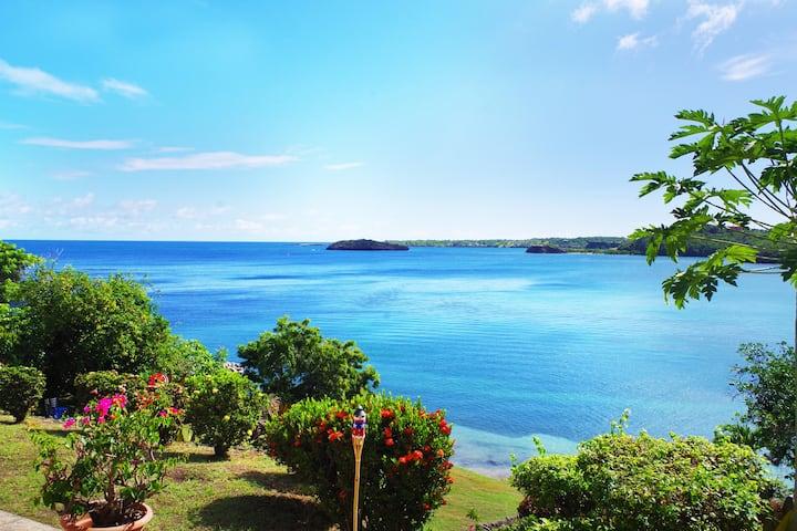 MARANG Beachfront Villa Gardenview