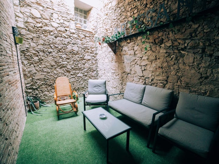 Rustique house in Palamós for 10 people