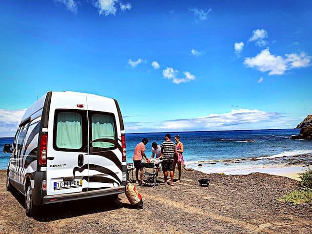 The best campervan for unforgettable moments! Zebr