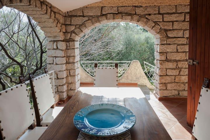 Villa con giardino a 800 m dal mare - Pittulongu - Casa