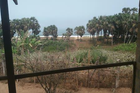 Bungalows écologique à l'afriquaine.