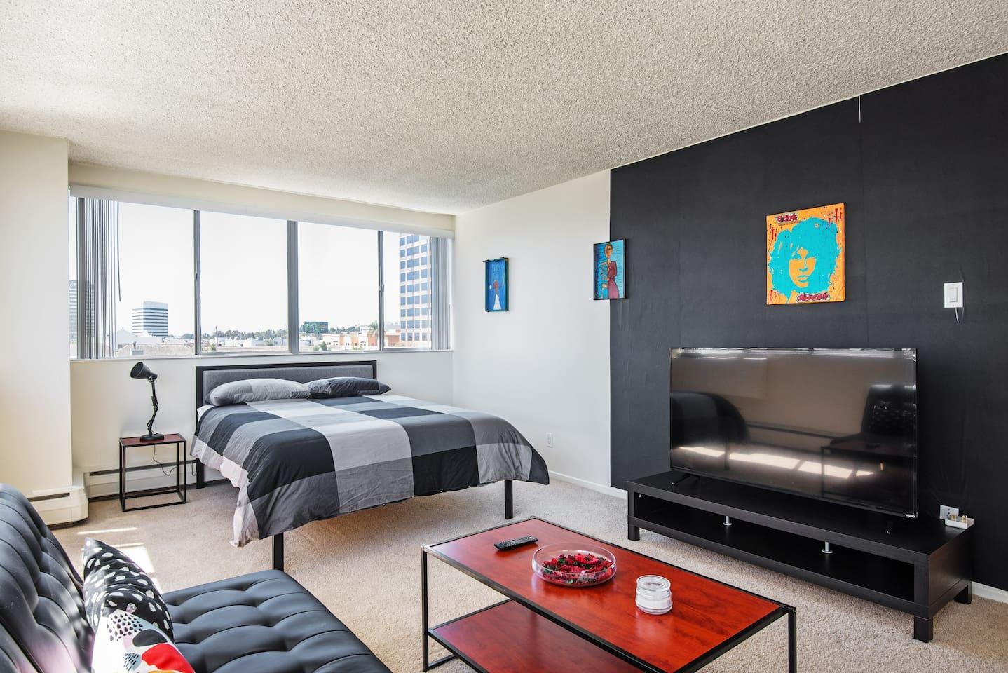 modern new luxury studio in santa monica ucla apartments for rent