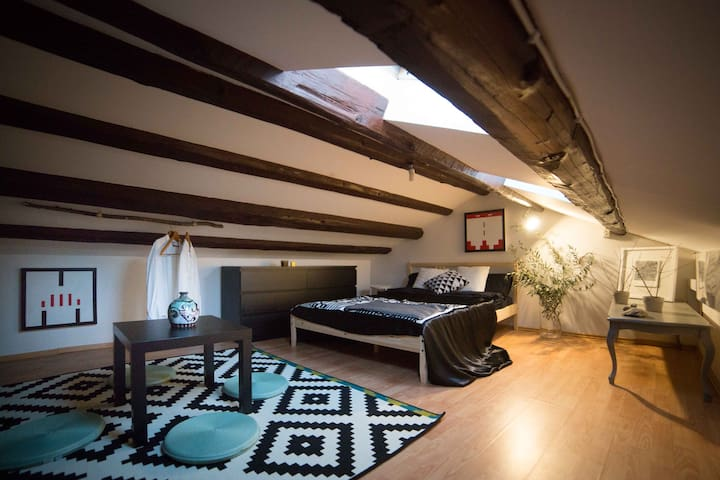 Artist's apartment with terrace - Artapart - Parenzo - Appartamento