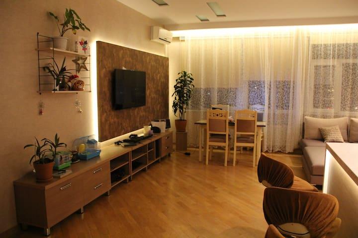 Квартира-Студио с видом на Каспий!+Трансфер