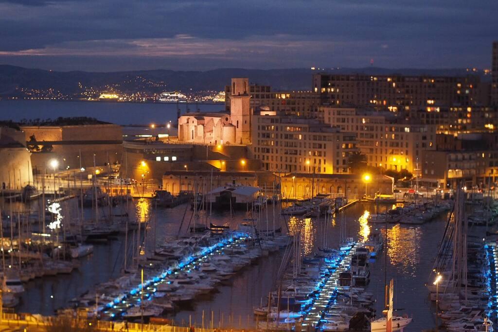 Vue panoramique sur le VieuxWonderful view on Old Port Port
