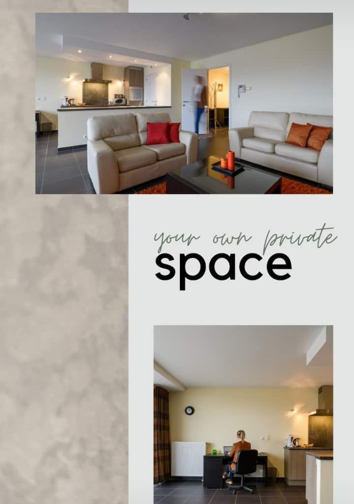 Ruim en modern appartement *Dijleland 1.0