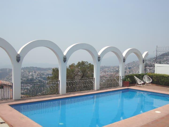 Hermosa casa colonial en Taxco.