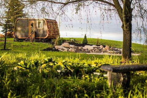Tiny Home Regenerative Farm Stay