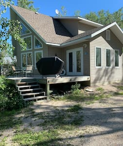 Beautiful A frame cottage located at Steeprock mb