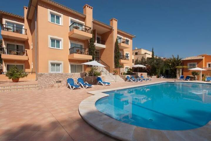 Pool apartment in Cala S Vicente, 539 - Cala Sant Vicenç - Appartement