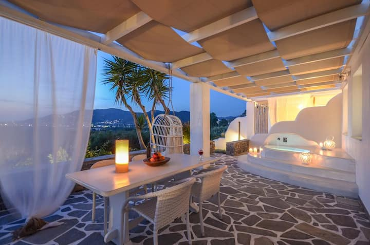 Villa Bella Vista 2bedr  with Jacuzzi and sea view