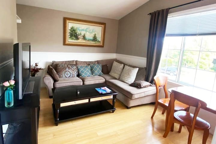 Your private 2 bed 1 bath, kitchen & laundry
