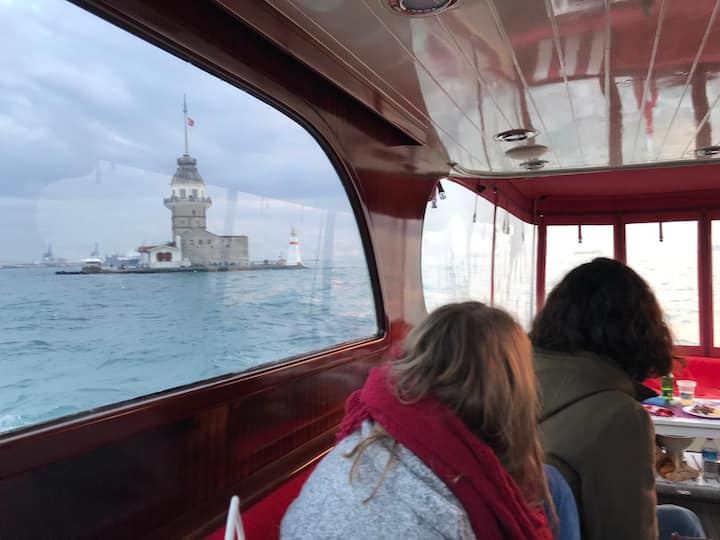 İstanbul Boğaz'ı yat tur