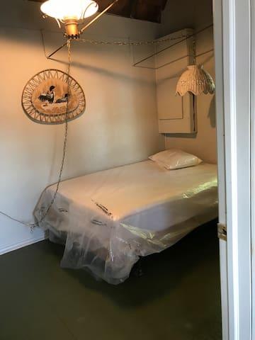 Bedroom in bunkie