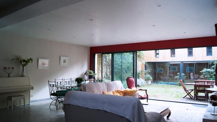 Chambre 1 dans loft avec jardin