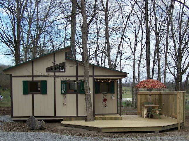 The Wood Shed Tiny House Experience!