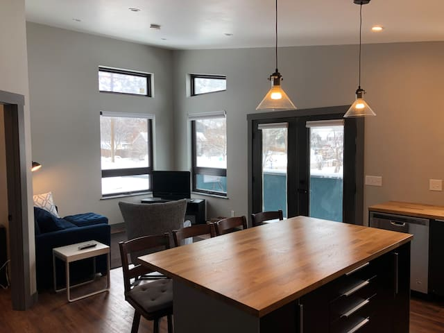 Brand New Uptown Durango Loft with Mountain Views