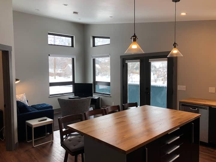 Brand New Uptown Durango Loft with Mountain Views