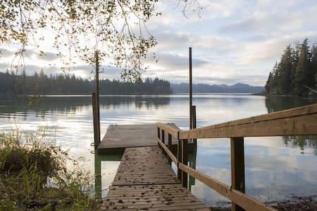 Secluded Coastal Lake Retreat