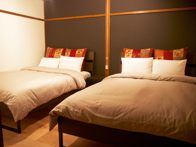 Bed room(two double size beds)