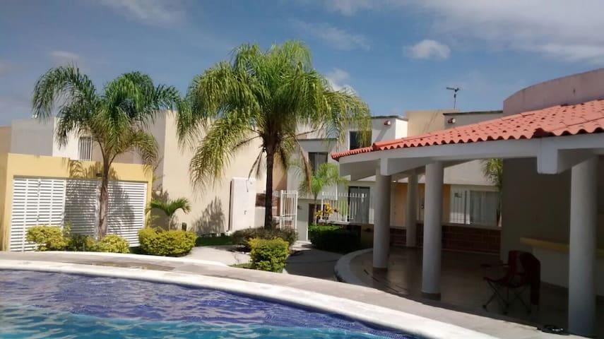Casa Los Sauces, Cuautla, Morelos - Cuautla - Huis