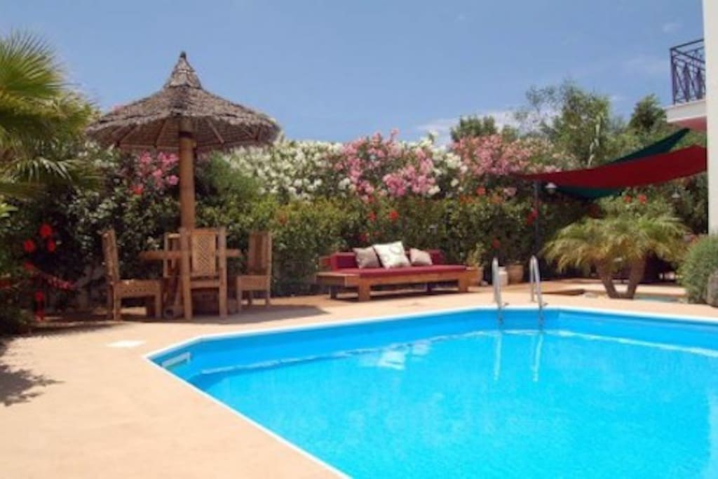 Relax by Your Own Secluded Pool