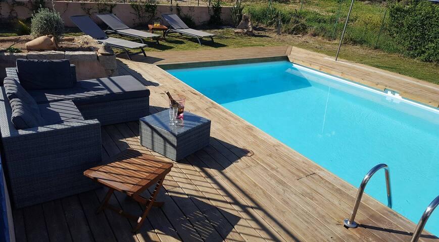 villa 3 chambres et piscine privée - Porto-Vecchio - Villa