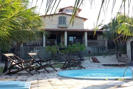 Casa de praia em um paraiso tropical - Extremoz