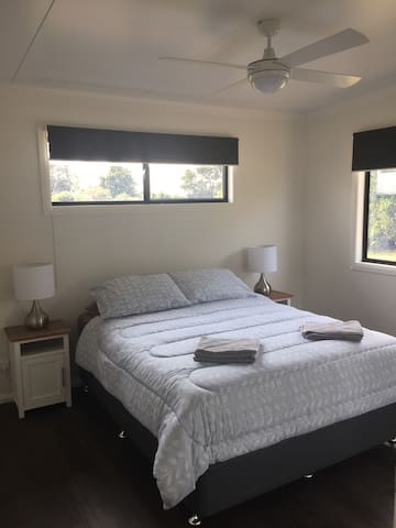 Main Bedroom with Big built in robe & ceiling fan