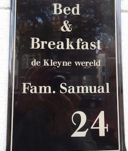 B&B de Kleyne wereld in t centrum met ontbijt