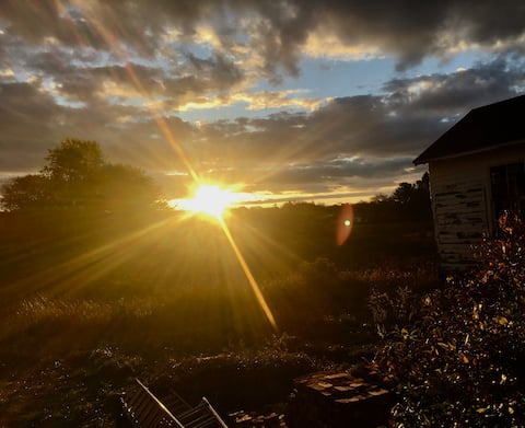 Sunrise at 15 Mills Road. Fully renovated Cottage.